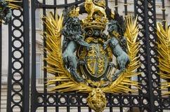Escudo de armas real del Reino Unido Imagen de archivo libre de regalías