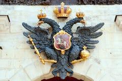 Escudo de armas ruso Imagen de archivo libre de regalías