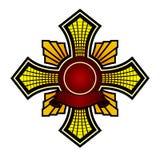 Escudo de armas v3 Imágenes de archivo libres de regalías