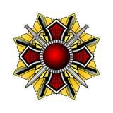 Escudo de armas v2 Ilustración del Vector