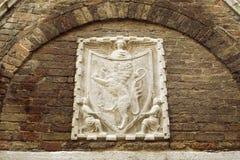 Escudo de armas veneciano fotos de archivo