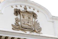 Escudo de armas, Venezuela Imágenes de archivo libres de regalías