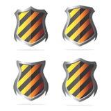 Escudo de la seguridad Imagenes de archivo