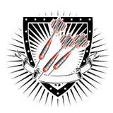 Escudo de los dardos libre illustration