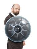Escudo del hombre de negocios Foto de archivo
