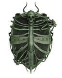 Escudo del horror ilustración del vector