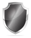 Escudo del metal ilustración del vector