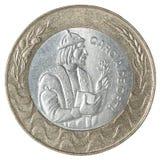 Escudo portoghese della moneta Fotografie Stock Libere da Diritti