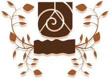 Escudo verde Fotografía de archivo libre de regalías
