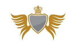 Escudo Wing Crown Fotografía de archivo