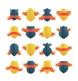 Escudos con las cintas libre illustration