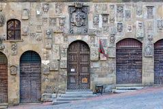 Escudos de armas - Arezzo Fotos de archivo libres de regalías
