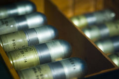 Escudos do lançador de granadas   Foto de Stock