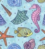 Escudos do oceano Fotografia de Stock