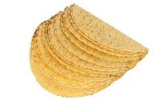 Escudos do Taco imagem de stock royalty free