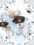 Escudos e anel 4 Fotografia de Stock