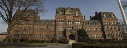 Escuela abandonada Imagenes de archivo