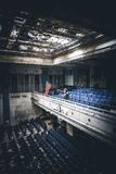 Escuela abandonada Fotos de archivo