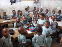 Escuela africana Foto de archivo libre de regalías