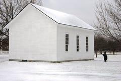 Escuela blanca Fotografía de archivo libre de regalías
