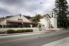 Escuela cruzada santa Imagenes de archivo