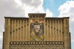 Escuela de artes y de artes en Toledo, España Imágenes de archivo libres de regalías