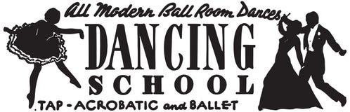 Escuela de baile libre illustration