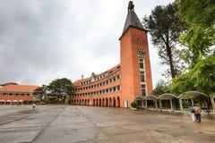 Escuela de College del profesor de DaLat Imágenes de archivo libres de regalías