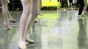 Escuela de danza almacen de metraje de vídeo