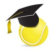 Escuela de entrenamiento del tenis Imágenes de archivo libres de regalías