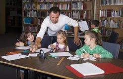 Escuela de grado Imagen de archivo libre de regalías