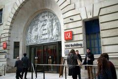 Escuela de Londres de la economía Imagenes de archivo