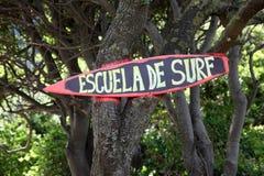 Escuela de surf Stock Photos