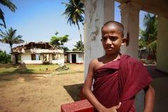 Escuela del budismo Foto de archivo libre de regalías