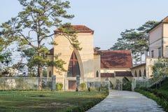 Escuela del DES Oiseaux de Notre Dame du Langbianor Couvent Imágenes de archivo libres de regalías