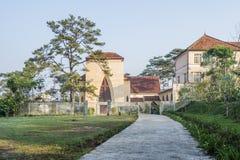 Escuela del DES Oiseaux de Notre Dame du Langbianor Couvent Fotografía de archivo libre de regalías