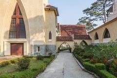 Escuela del DES Oiseaux de Notre Dame du Langbianor Couvent Fotos de archivo libres de regalías