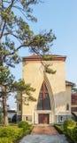 Escuela del DES Oiseaux de Notre Dame du Langbianor Couvent Imagen de archivo