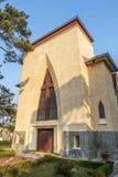 Escuela del DES Oiseaux de Notre Dame du Langbianor Couvent Foto de archivo libre de regalías