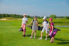 Escuela del golf Fotografía de archivo