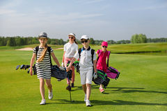 Escuela del golf Fotografía de archivo libre de regalías