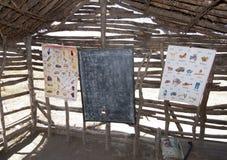 Escuela del Masai fotografía de archivo libre de regalías