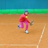Escuela del tenis Foto de archivo libre de regalías