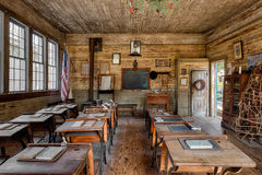 escuela del Uno-cuarto Imagen de archivo