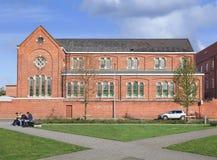 Escuela del vencedor del St en Turnhout, Bélgica Imágenes de archivo libres de regalías