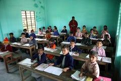 Escuela en Kumrokhali Fotos de archivo