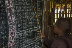 Escuela en Tanzania Imagen de archivo