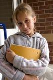 Escuela exterior Foto de archivo libre de regalías