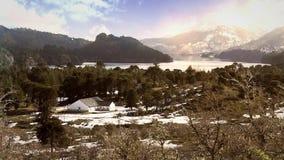 Escuela hermosa en la Cordillera De Los los Andes metrajes