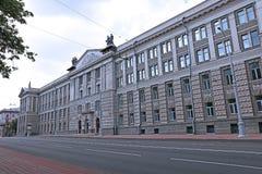Escuela militar de Minsk Suvorov Imágenes de archivo libres de regalías